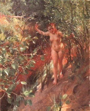 Anders Zorn - Röd sand (Red sand)
