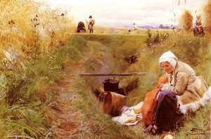 Anders Zorn - Vart Dagliga Brod (Our daily bread)