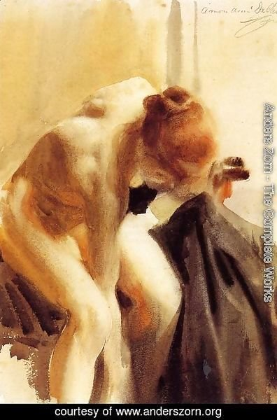Anders Zorn - A Female Nude