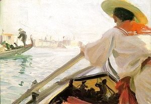 Anders Zorn - In my Gondola