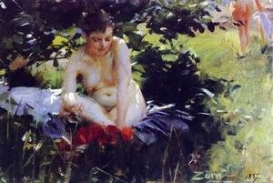 Anders Zorn - Red Stockings