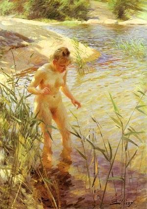 Anders Zorn - Reflections