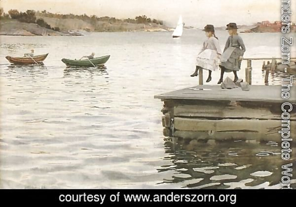 Anders Zorn - Boat Race
