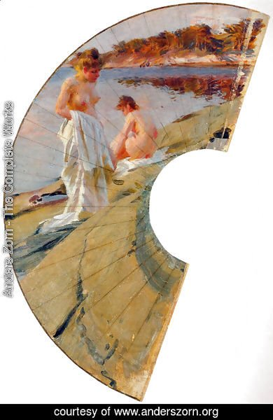 Anders Zorn - Les baigneuses