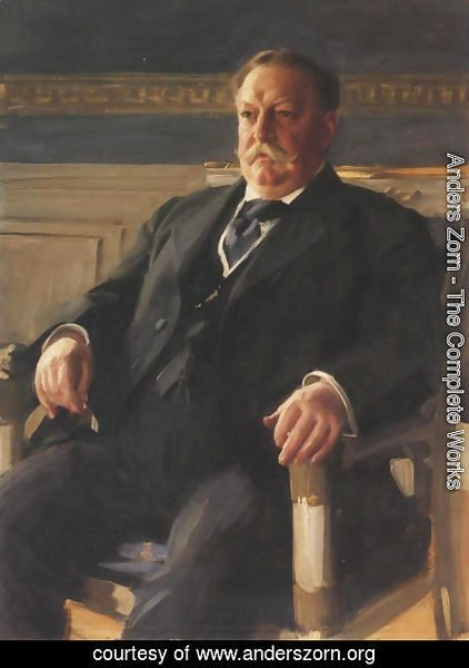 Anders Zorn - William Howard Taft 1911