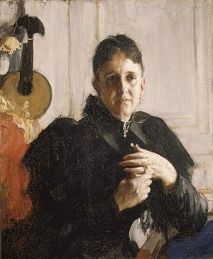 Anders Zorn - Mrs John Crosby Brown ca 1900