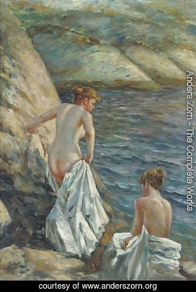 Anders Zorn - The bathers