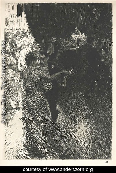 Anders Zorn - The Waltz