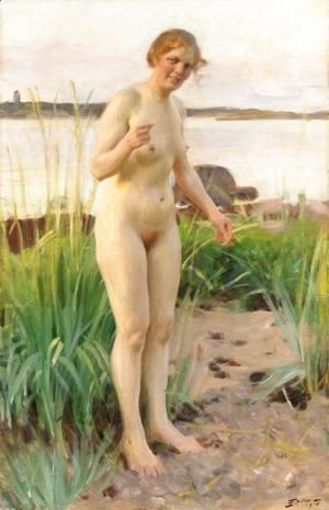 Anders Zorn - Smalandska (Girl From Smaland)