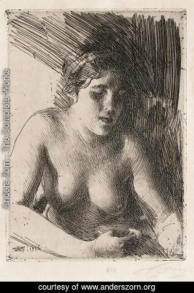 Anders Zorn - Bust