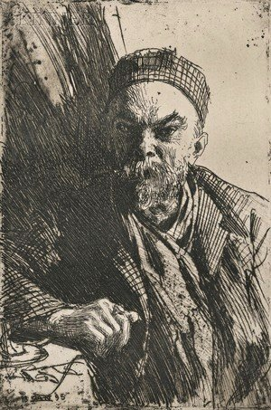 Anders Zorn - Paul Verlaine