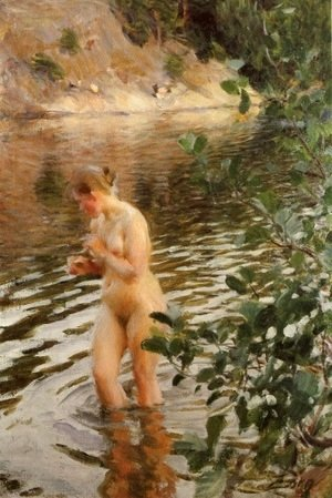 Anders Zorn - Sensitive to cold
