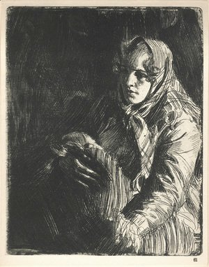 Anders Zorn - A Swedish Madonna