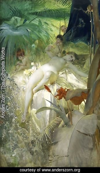 Anders Zorn - Love Nymph