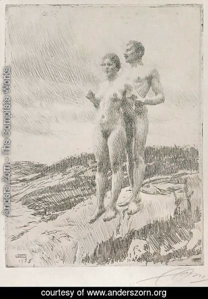 Anders Zorn - The two