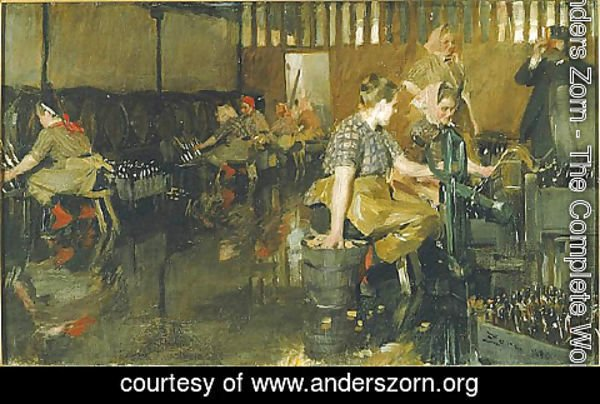Anders Zorn - The Little Brewery