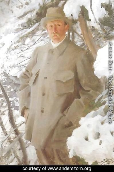 Anders Zorn - The Painter Bruno Liljefors