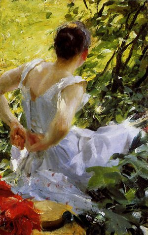 Anders Zorn - In the woods
