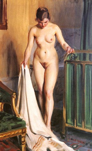 Anders Zorn - The bedroom