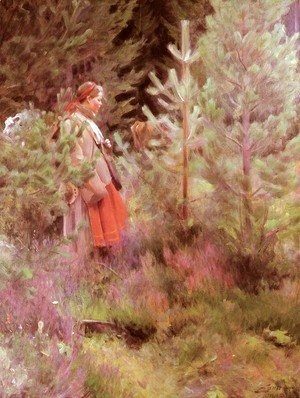 Anders Zorn - Walk
