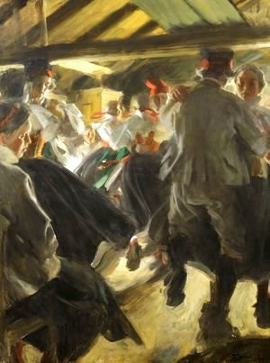Anders Zorn - Dance in Gopsmor
