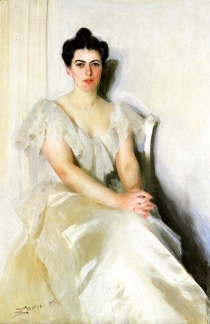 Anders Zorn - Frances Cleveland