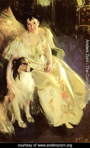 Anders Zorn - Mrs  Bacon