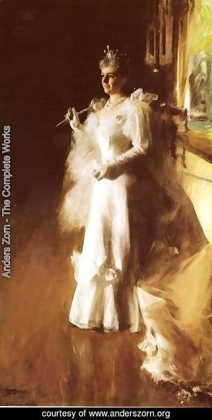 Anders Zorn - Mrs  Potter Palmer