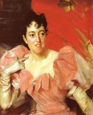 Anders Zorn - Mrs  Walter Bacon